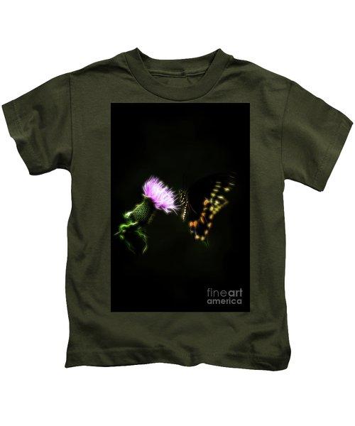 Backroad Butterfly Kids T-Shirt