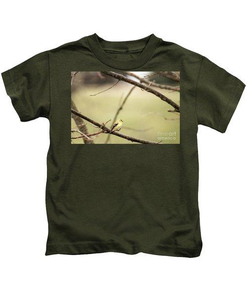 Backyard Yellow Kids T-Shirt