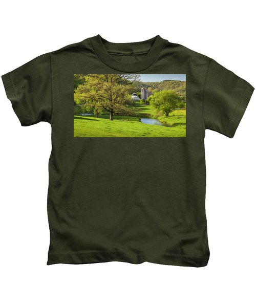 Bad Axe River Kids T-Shirt