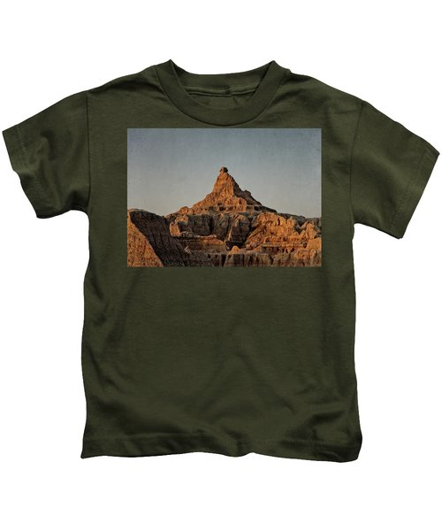 Badlands At Sunrise Kids T-Shirt