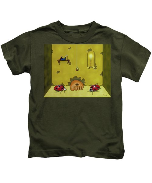Badminton By Candlelight Kids T-Shirt