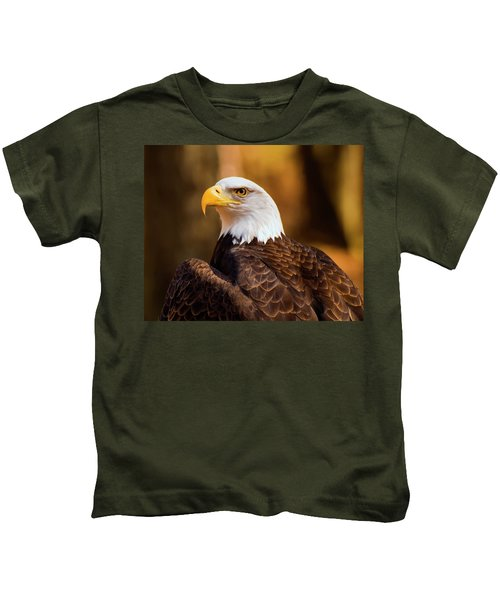 Bald Eagle 2 Kids T-Shirt