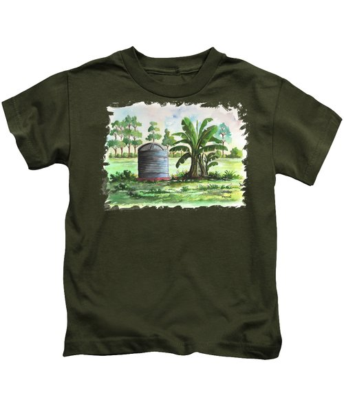 Banana And Tank Kids T-Shirt