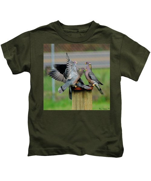 Band-tailed Pigeons #1 Kids T-Shirt