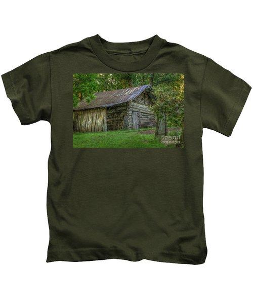 Barn At Artist Point Kids T-Shirt