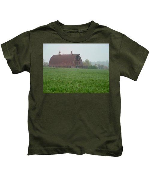 Barn In Summer Kids T-Shirt