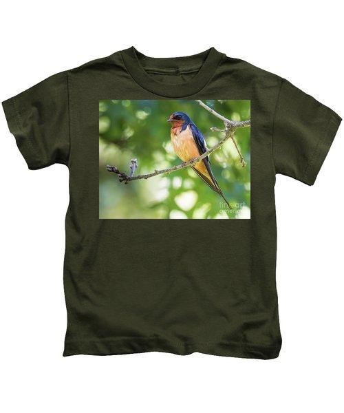 Barn Swallow  Kids T-Shirt