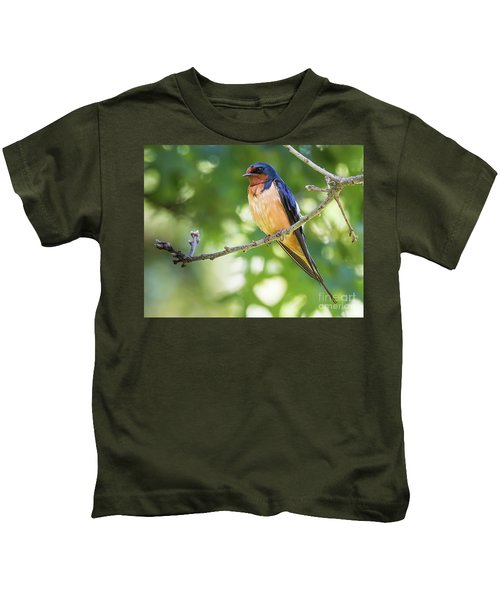 Barn Swallow  Kids T-Shirt