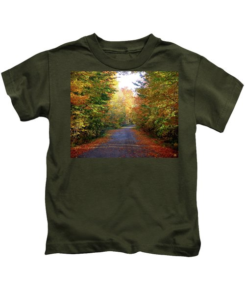 Barnes Road - Cropped Kids T-Shirt