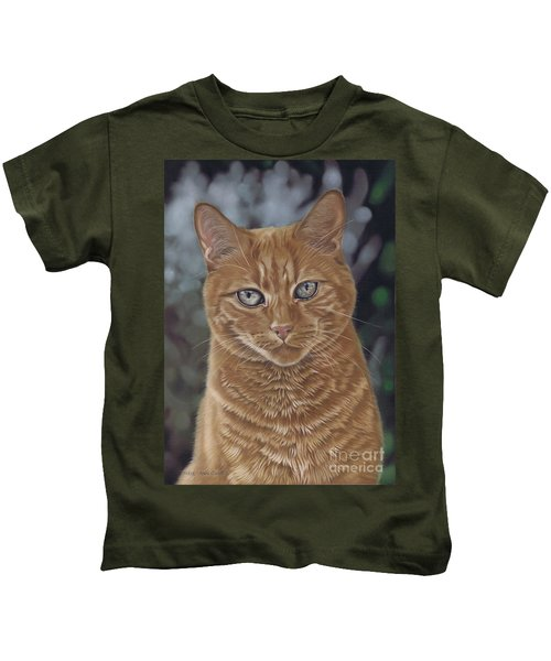 Barry The Cat Kids T-Shirt