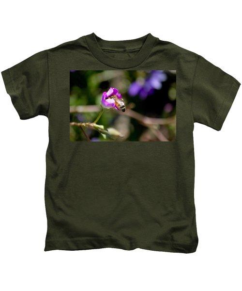 Bashful Bee  Kids T-Shirt