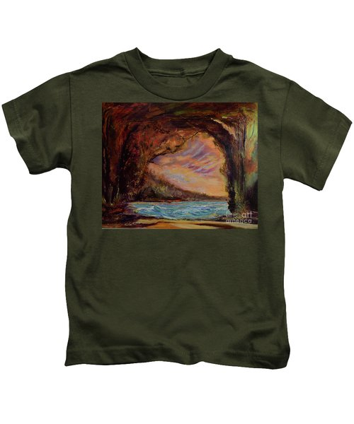 Bat Cave St. Philip Barbados  Kids T-Shirt