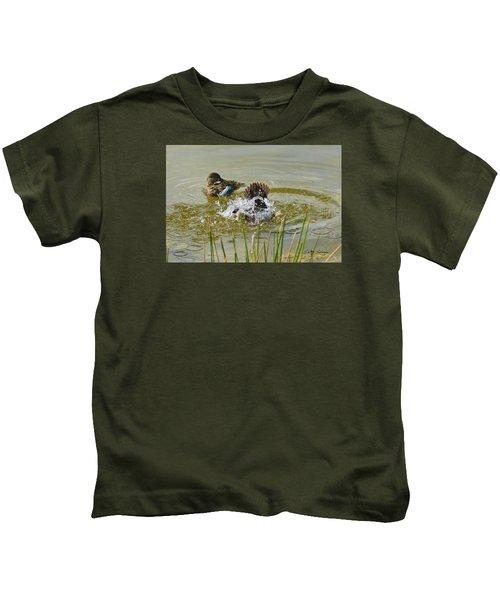 Bathing Kids T-Shirt