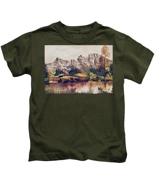 Bavarian Landscape Kids T-Shirt
