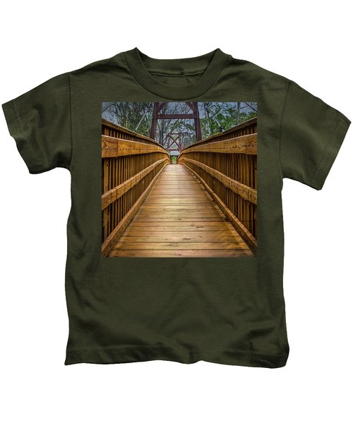 Bayou Foot Bridge Kids T-Shirt
