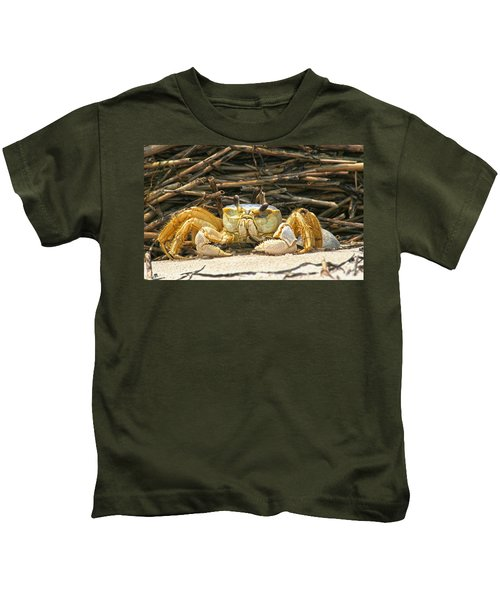 Beach Crab Kids T-Shirt