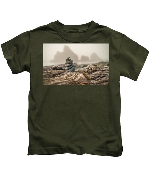 Beach Stack Kids T-Shirt