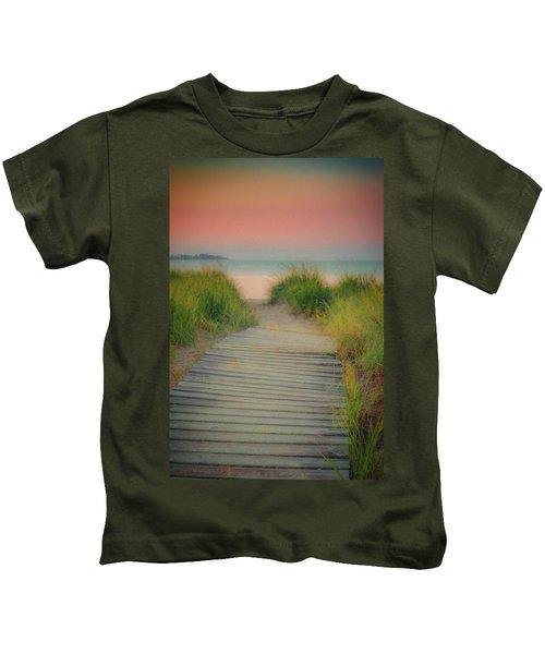 Beach Sunrise Kids T-Shirt