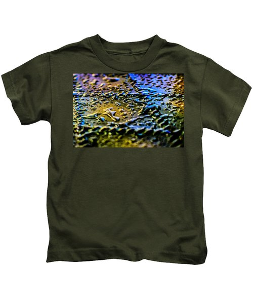 Beaded Water Texture Kids T-Shirt