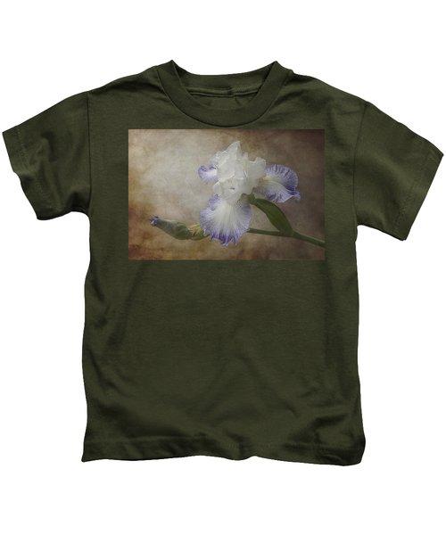 Bearded Iris 'gnuz Spread' Kids T-Shirt