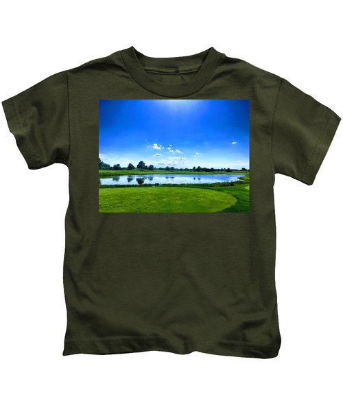 Kids T-Shirt featuring the photograph Beautiful Day by Chris Montcalmo