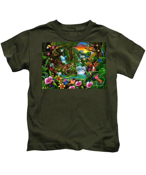 Beautiful Rainforest Kids T-Shirt