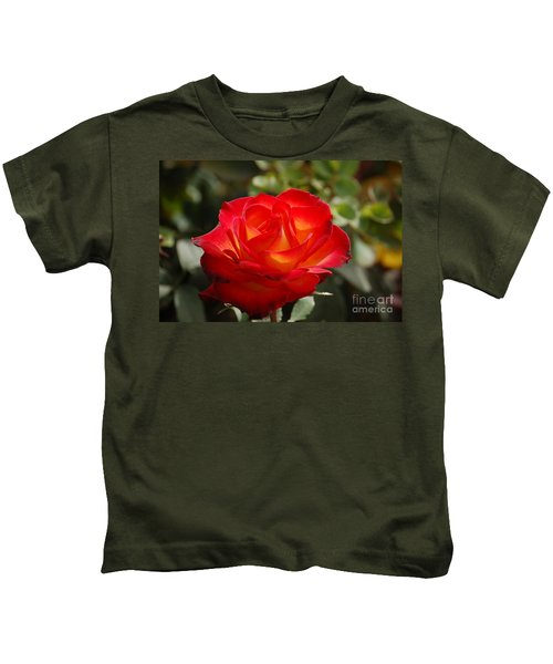 Beautiful Rose Kids T-Shirt
