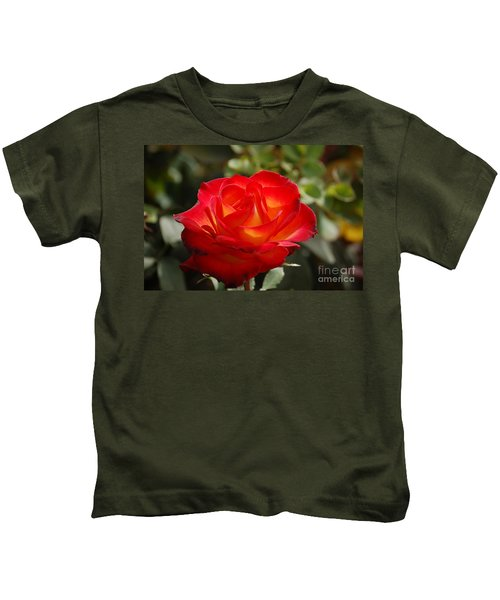 Beautiful Rose Kids T-Shirt