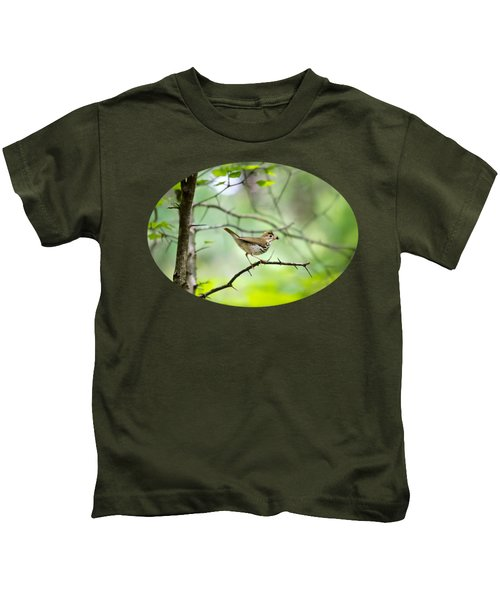 Beauty Of The Spring Forest Kids T-Shirt by Christina Rollo