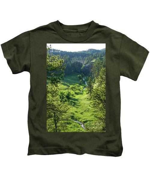 Beaver Creek In The Spring Kids T-Shirt