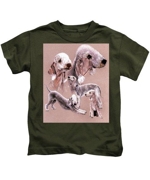 Bedlington Terrier Kids T-Shirt