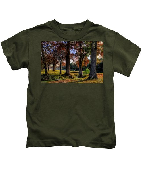 Beginning Of Fall In Texas Kids T-Shirt