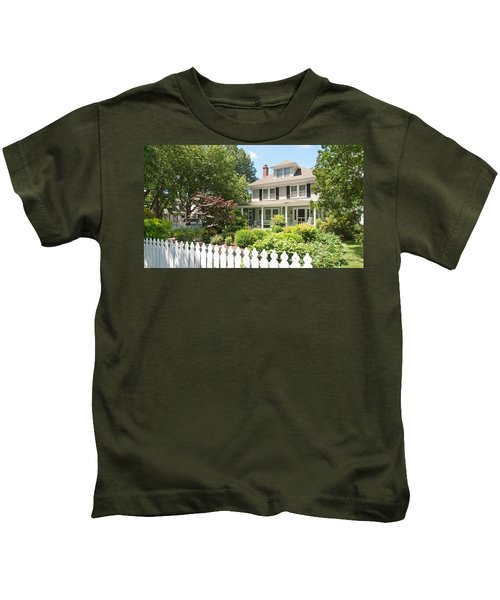 Behind The Picket Fence Kids T-Shirt