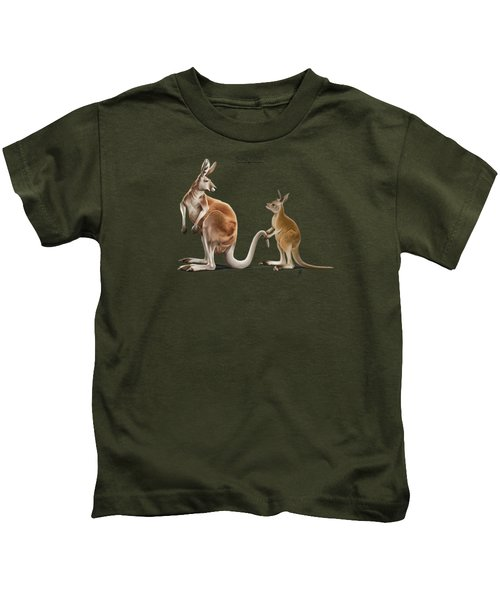 Being Tailed Kids T-Shirt by Rob Snow
