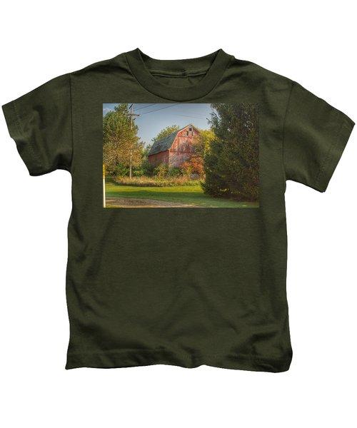 0028 - Belle River Red I Kids T-Shirt