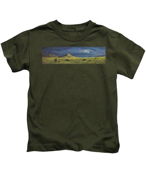 Belt Butte Spring Kids T-Shirt