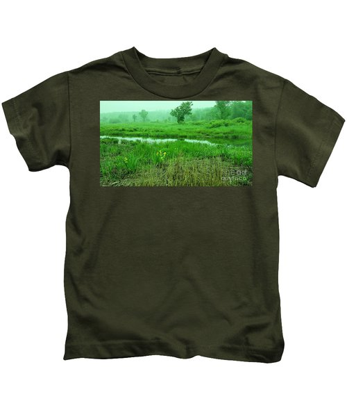 Beneath The Clouds Kids T-Shirt