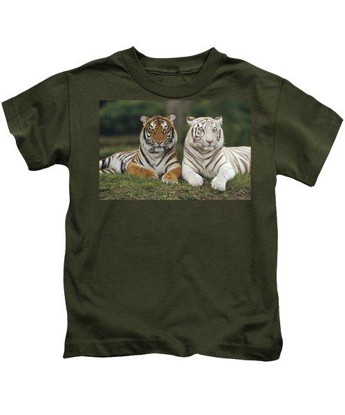 Bengal Tiger Team Kids T-Shirt