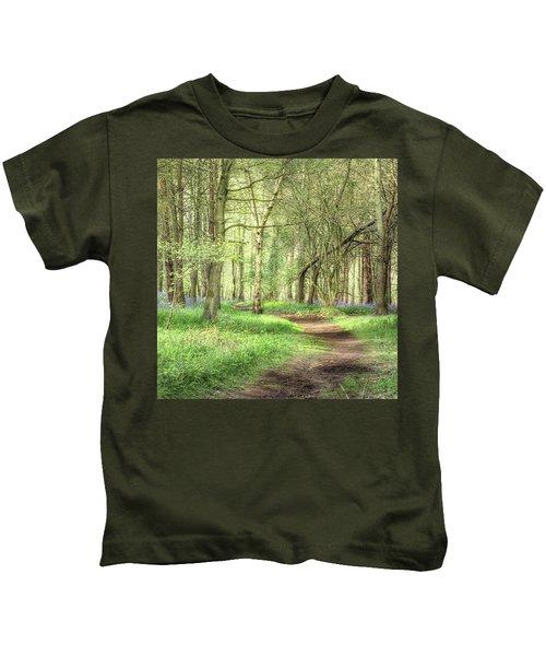 Bentley Woods, Warwickshire #landscape Kids T-Shirt