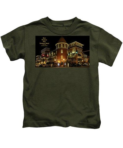 Best Western Plus Windsor Hotel - Christmas Kids T-Shirt