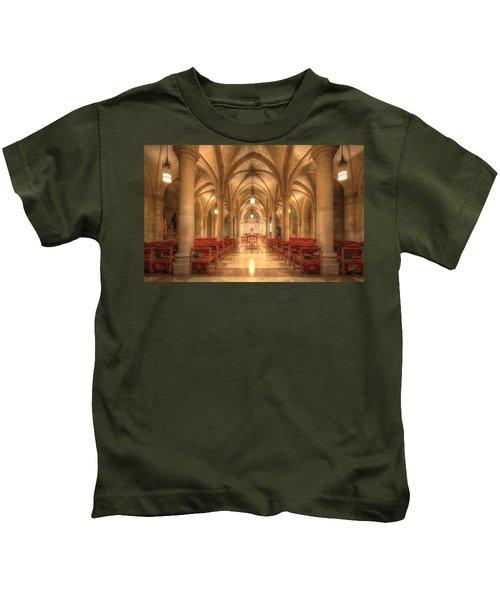 Bethlehem Chapel Washington National Cathedral Kids T-Shirt