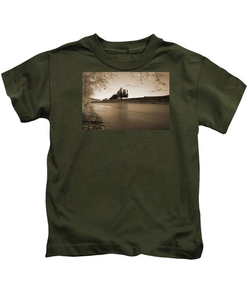 Bethlehem Steel Along The Lehigh Kids T-Shirt