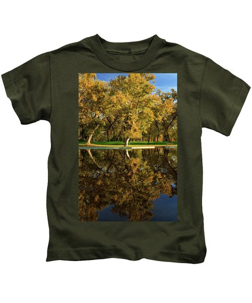 Bidwell Park Reflections Kids T-Shirt