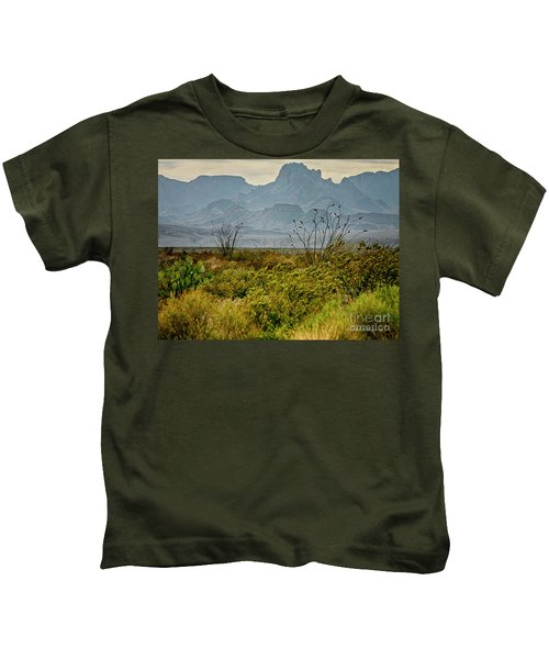 Big Bend Mountains Kids T-Shirt