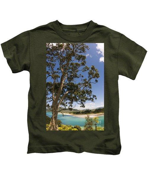 Big Old Pohutukawam Kids T-Shirt