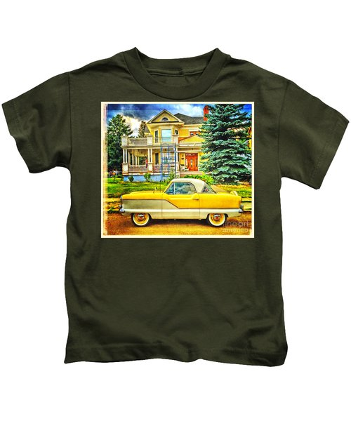 Big Yellow Metropolis Kids T-Shirt