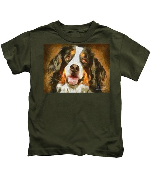 Bimbo - Bernese Mountain Dog Kids T-Shirt