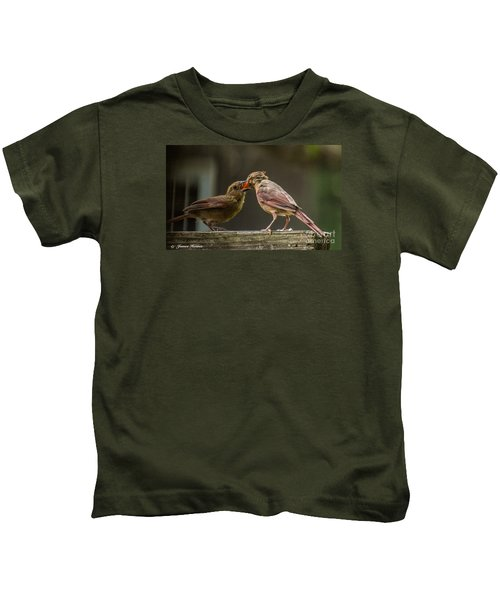 Bird Parenting Kids T-Shirt