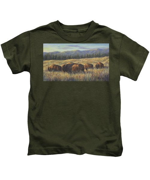 Bison Bliss Kids T-Shirt