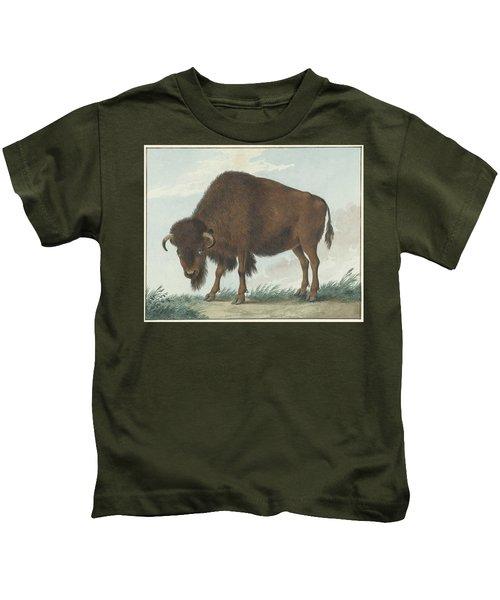 Bison, Isaac Van Haastert, 1808 Kids T-Shirt